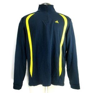 Adidas - Track Top Pullover - 1/2 Zip Men's Sz L